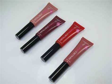 Harga L Oreal Infallible Lipstick l oreal infallible lipstick review indonesia the of