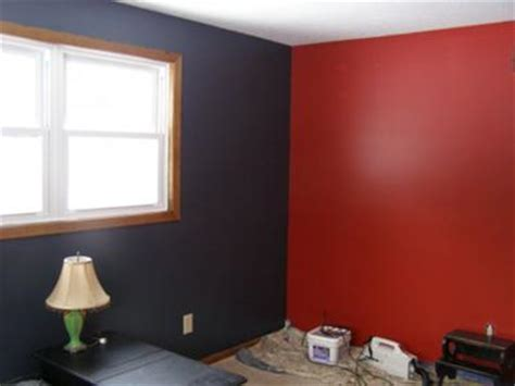 Crimson Bedroom Ideas by Feature Color Wall Interior Decorating Accessories