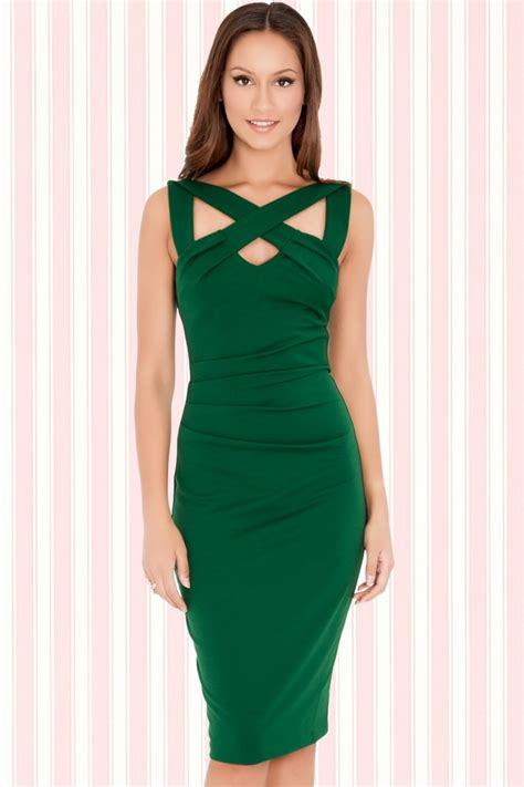 cross dress salon 50s scarlet cross dress emerald