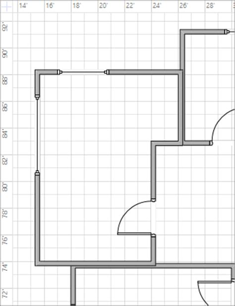 visio grid spacing gridlines at quot quot setting