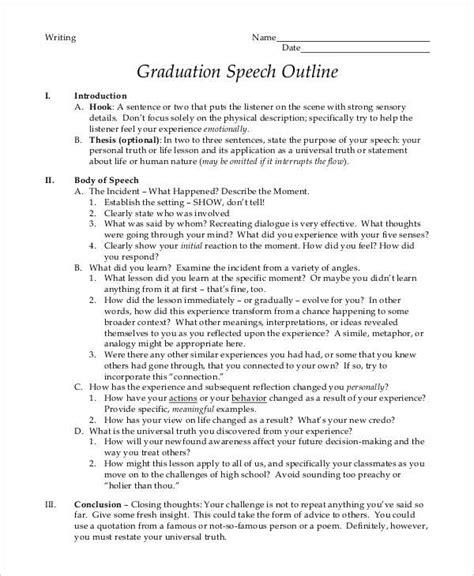 graduation speech template graduation speech template gallery template design ideas