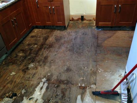 before and after flood damage repair and renovation in