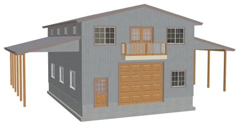 blog garage with apartment plans