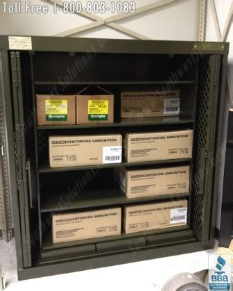 metal ammo storage cabinet heavy duty ammo cabinets lockers police department