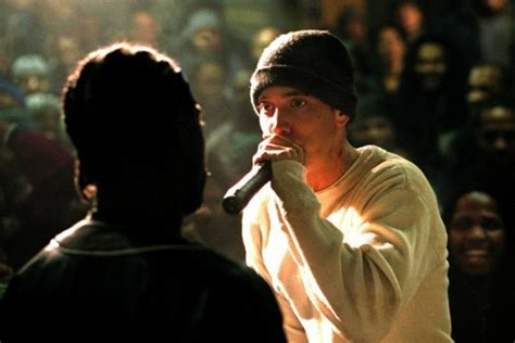 eminem film music eminem has produced a satirical rap battle film called