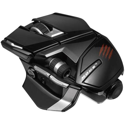 Pc Mad Catz Freqm Wired Gloss Black mad catz 174 mcb4371500c2 04 1 m o u s 9 wireless gaming mouse gloss black rapid