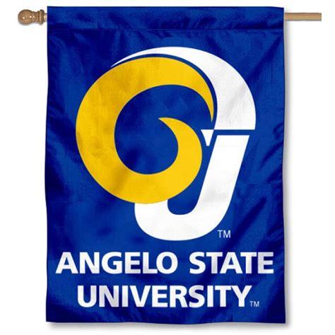 angelo state rams angelo state rams house flag your angelo state rams house