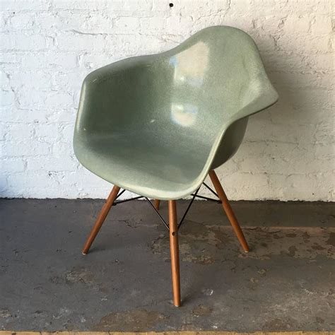 eames fiberglass armchair herman miller eames seafoam green fiberglass armchair at