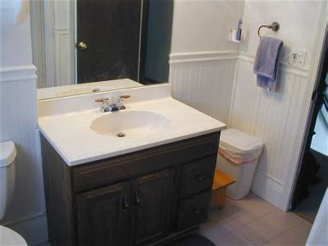 Replacement Vanity Tops by Replace A Vanity Unit Add In A New Sink How Did I Do It