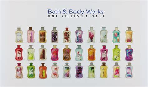 bath body works shop  set   billion pixels sims  updates