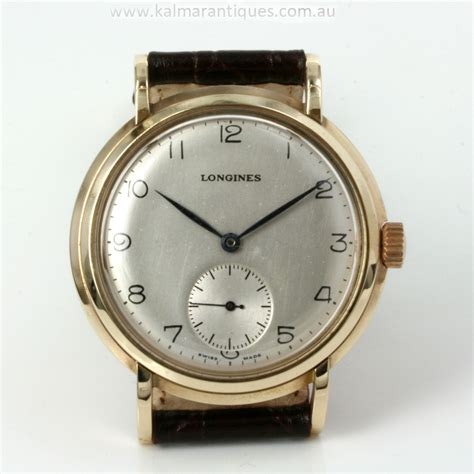 buy 9ct gold vintage longines from 1949 sold items
