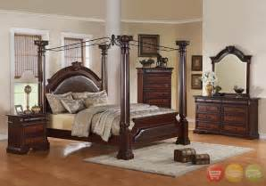 Canopy Bedroom Furniture Sets Neo Renaissance Poster Canopy Bed Luxury Bedroom Furniture