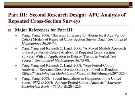 repeated cross sectional ppt disentangling age period cohort effects new models