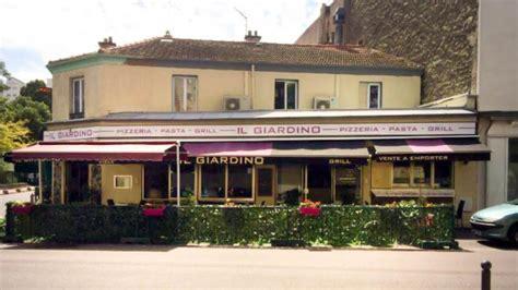 il giardino t restaurant il giardino 224 vanves 92170 menu avis prix