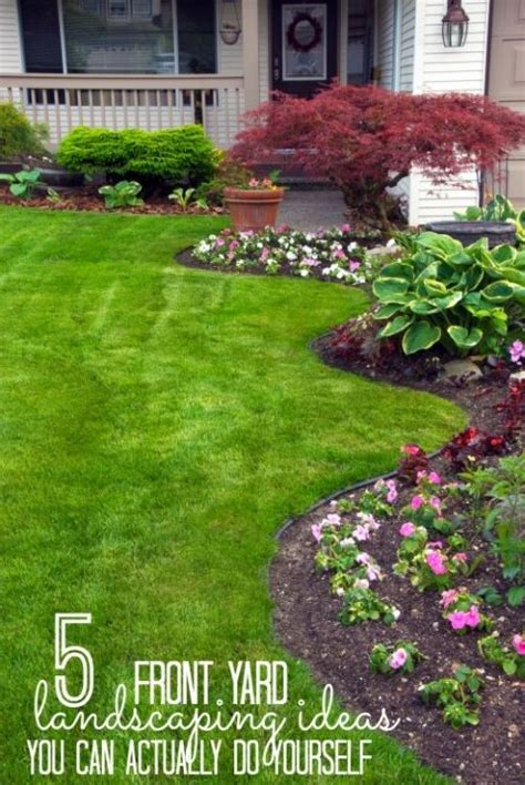 my landscape ideas boost increase your curb appeal with these landscaping diy
