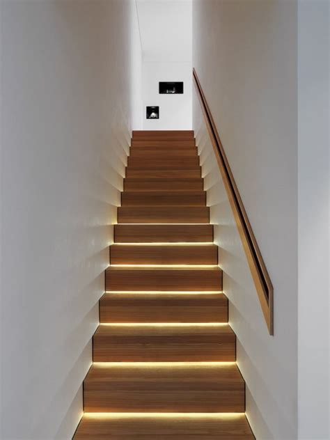 Lights For Stair Banisters by 25 Best Ideas About Stair Lighting On Led
