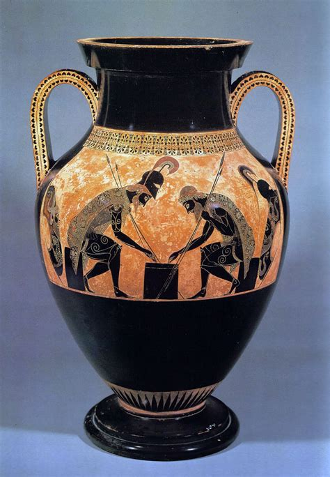 Ancient Greece Vase Painting by Fleske Lesson
