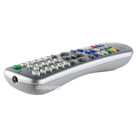 Chunghop Universal Smart Remote For Tv Dvd Cbl Sat L35 chunghop universal smart remote learn function for tv dvd cbl sat l350 silver