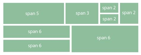 bootstrap layout row bootstrap combining rows rowspan stack overflow