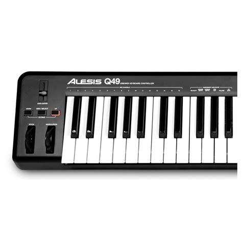Alesis Q49 Keyboard Alesis Q49 49 Key Usb Midi Keyboard Controller Trax Store