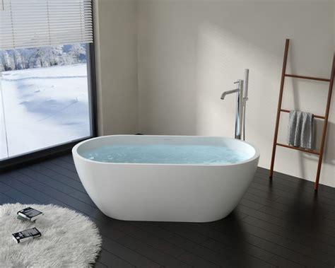 freestanding stone resin bathtubs badeloft freestanding bathtub bw 02 upc certified