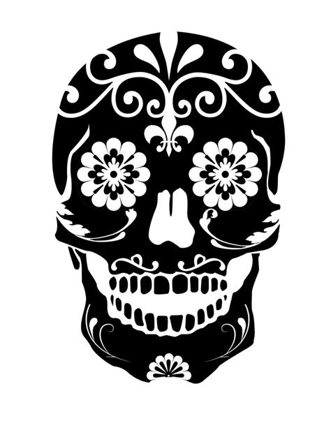 day of the dead skull template 419 best images about stencils on mermaid