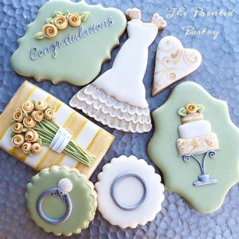 wedding shower cookies ideas best 20 engagement cookies ideas on wedding