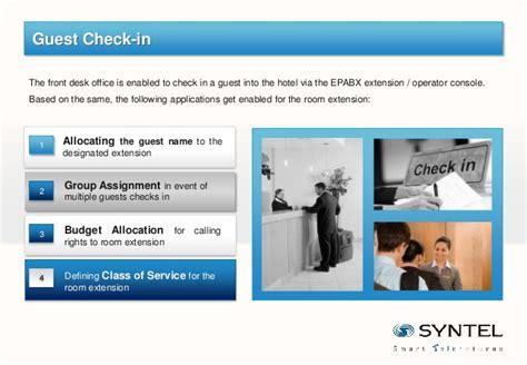 Syntel Help Desk by Syntel Hospitality Solution