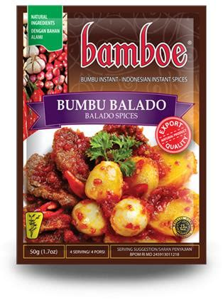 Bamboe Bumbu Tom Yum 54gr bamboe bumbu balado 50g from buy asian food 4u