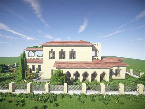 building house ideas california mansion minecraft house design