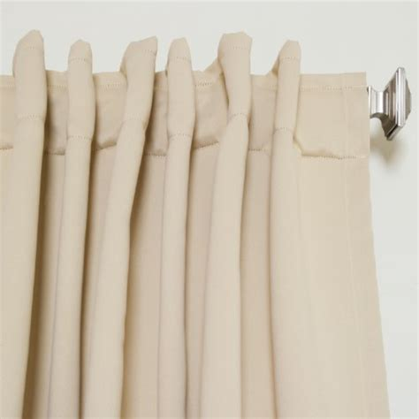 curtains 108 inch length beige rod pocket energy saving thermal insulated blackout