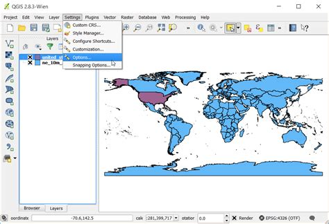 qgis tutorials overview working with projections qgis tutorials and tips