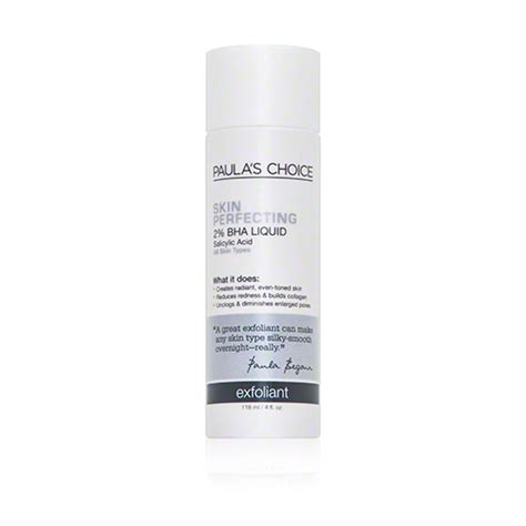 Skin Perfecting 2 Bha Liquid Exfoliant Sachet paula s choice skin perfecting 2 percent bha liquid exfoliant dermstore