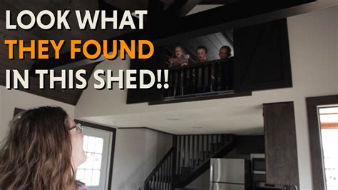 turning a shed into a tiny house converting a derksen shed into a tiny house youtube