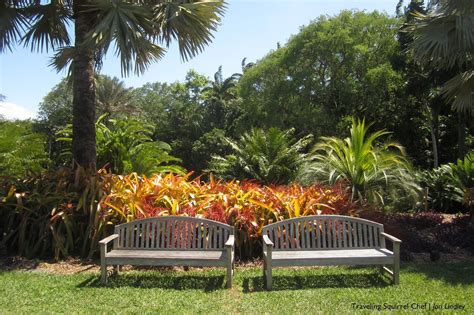 Tropical Botanical Garden Miami Miami Fairchild Tropical Botanical Garden The Traveling