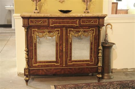 dining room serving cabinet french dining room server or cabinet with brass