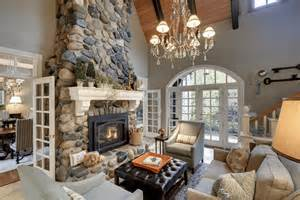 Manteau Chemin 233 E 28 Id 233 Es De D 233 Coration Paint Ideas For Living Room With Stone Fireplace