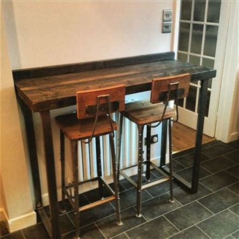 Diy Breakfast Bar Table 17 Best Ideas About Bar Height Table On Pinterest Bar Tables Kitchen Table And Tables