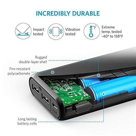 Anker Powercore Edge 20000mah Can Charge Your Phone Fully Up To 7x anker 20000mah portable charger powercore 20100 ultra high capacity power bank with 4 8a