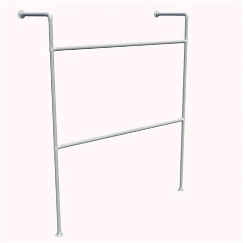 Wall Mounted Clothes Rack With Shelf by Wall Mounted Clothing Rack Storage Clothing Racks