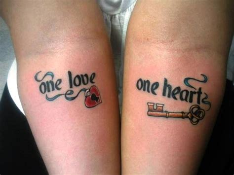 heart lock and key tattoos for couples 65 beautiful lock key tattoos desiznworld