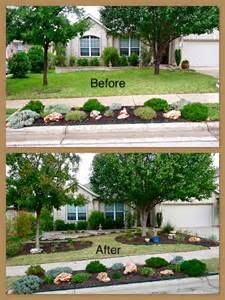 a new xeriscaped front yard central texas gardening