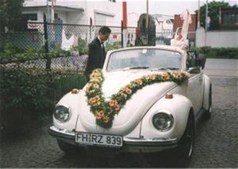 Auto Hochzeitsschmuck by Blumen Krummeich