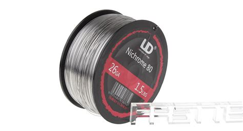 Vaportech Kanthal Wire Nichrome 80 10m 70 54 authentic ud nichrome 80 heating wire for rebuildable atomizers 26 awg 0 4mm dia 1