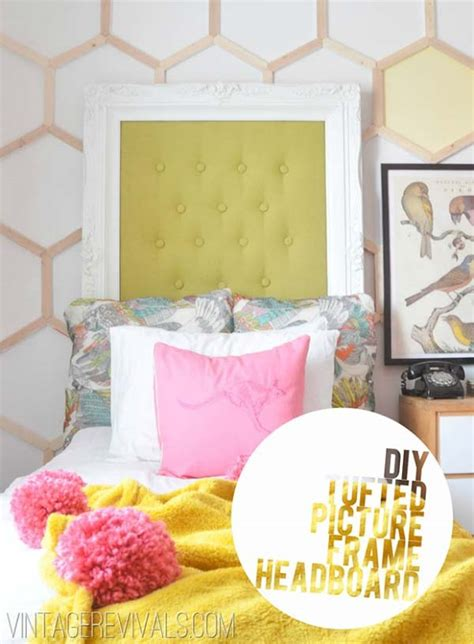Picture Frame Headboard Ideas by 40 Creative Reuse Picture Frames Into Home Decor Ideas