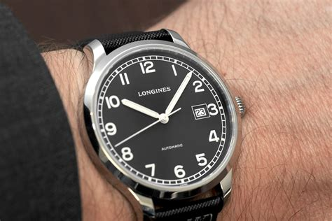Flat Layout Design Professional Watches The Longines Heritage Military 1938