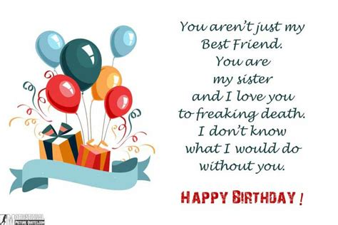 because you re my friend greeting card happy birthday 35 inspirational birthday quotes images insbright