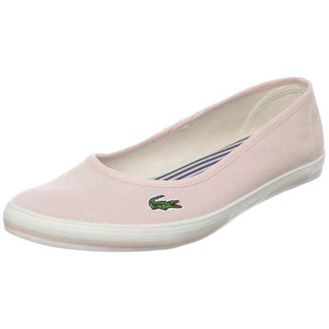 lacoste womens marthe slip on fashion sneaker in pink