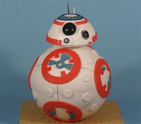 bb8 star wars cake exclusive how cake rush bakery created the star wars bb 8