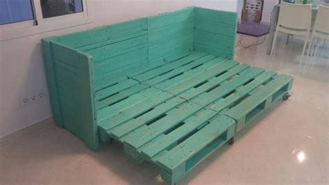 pallet sofa bed movable sofa bed out of pallet wood pallet ideas